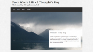 A Therapist's Blog